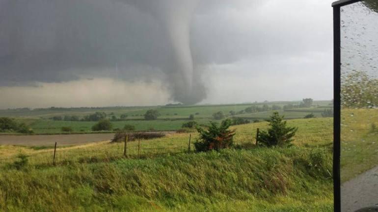 Southwest Iowa Creston Tornado