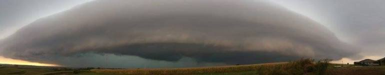 Iowa Shelf Cloud September 2015