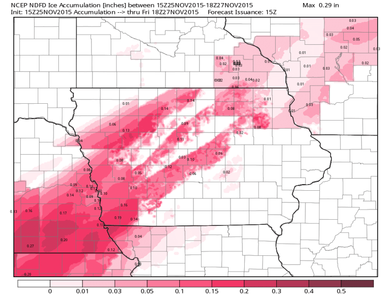 Iowa Ice Accumulations