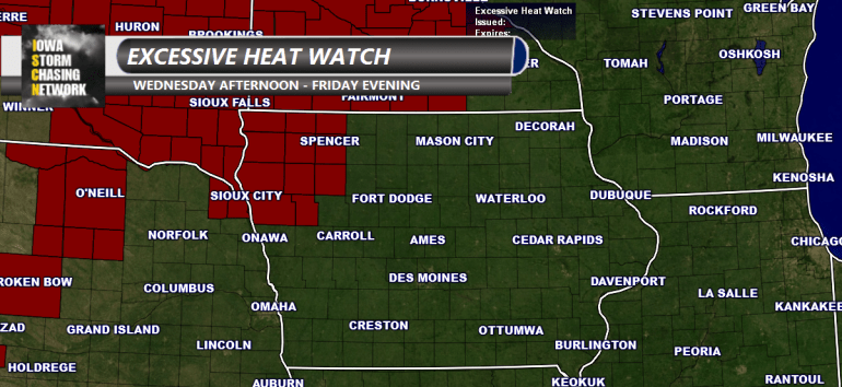 Iowa Excessive Heat Watch
