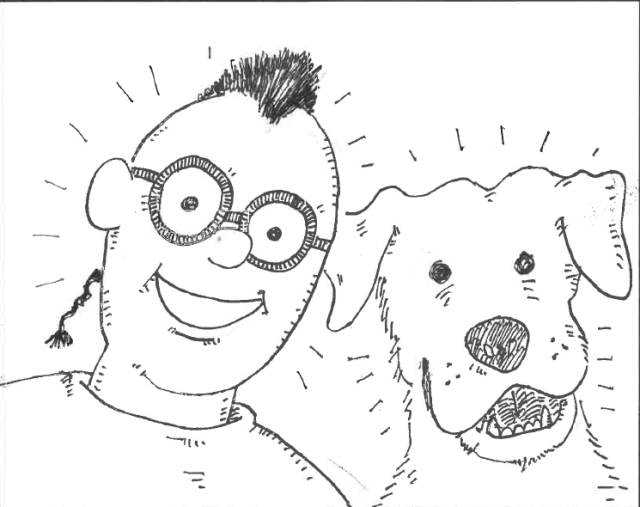 picture of Tomás and Dog from Tomás and the Case of the Mysterious Missing Dog