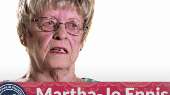 Martha-Jo Ennis, Investment Scheme Victim