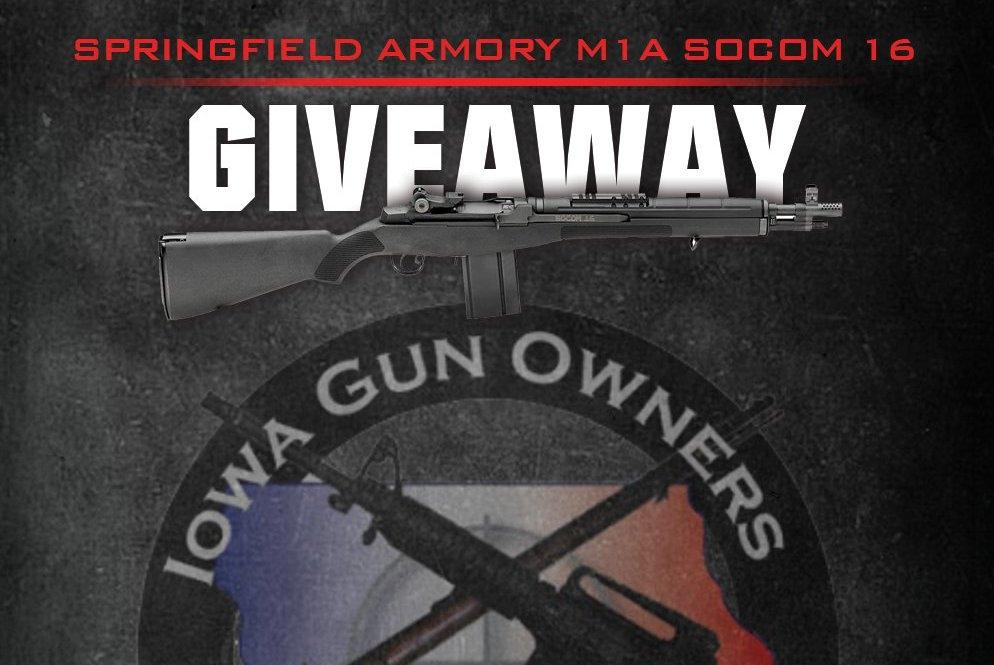 Last Chance – Gun Giveaway Ends Tomorrow!