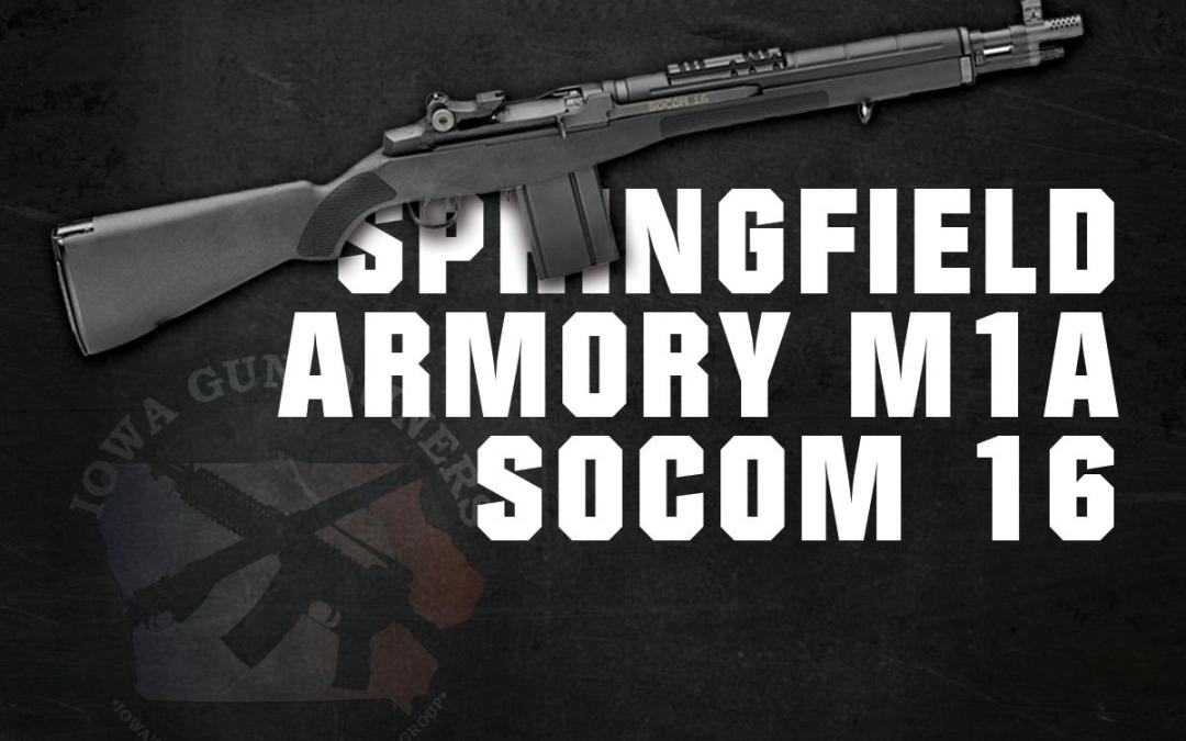 Winner of the Springfield Armory M1A SOCOM is…