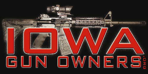 Pick Up a FREE Decal from Iowa Gun Owners!