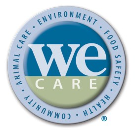 We Care Logo with Mark