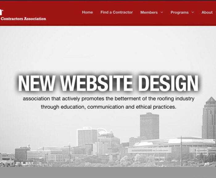 IRCA Website Design