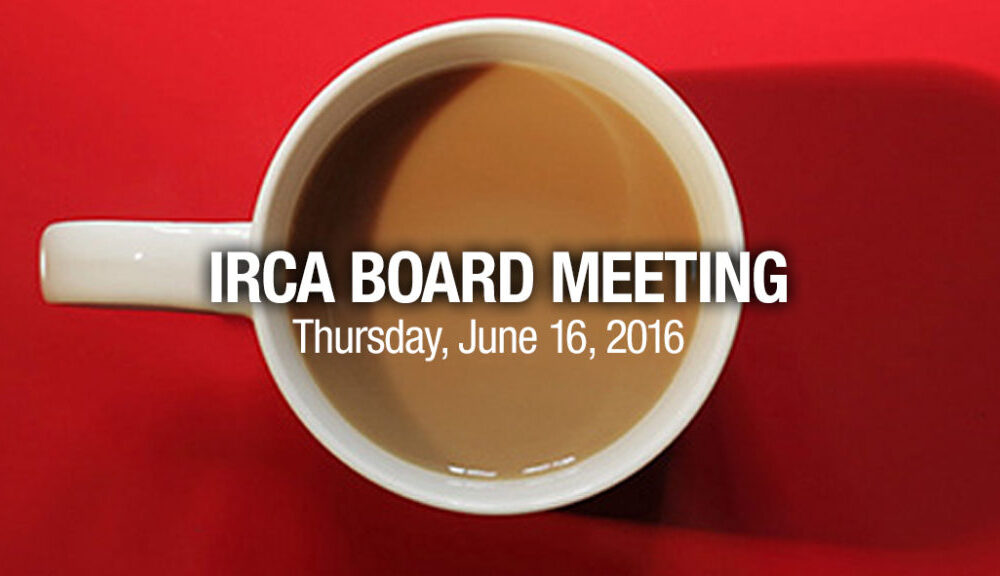 IRCA Board Meeting