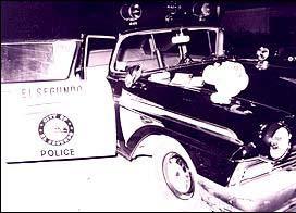 Murdered officers' car (courtesy City of El Segundo, California)