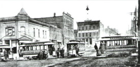 Ottumwa as it looked a year after Alice Kelley's murder.