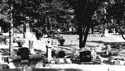 Mez Royale was buried in the Ottumwa Cemetery