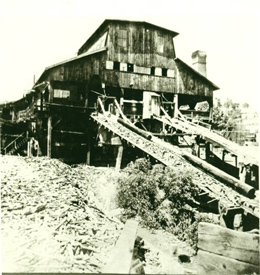 The Hersey Lumber Company, where Jacob Neibert was fatally shot (Musser Public Library)