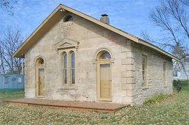 Straka boarded a train at the Quarry Railroad Station on August 27, 1878.
