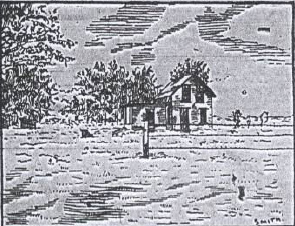 "The Russie home, drawn by ""Smith,"""