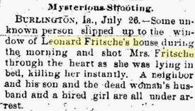 from the Bismarck (North Dakota) Daily Tribune