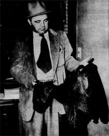 Nelson's suede jacket (from the Cedar Rapids Gazette)