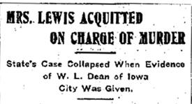 from the  Cedar Rapids Evening Gazette