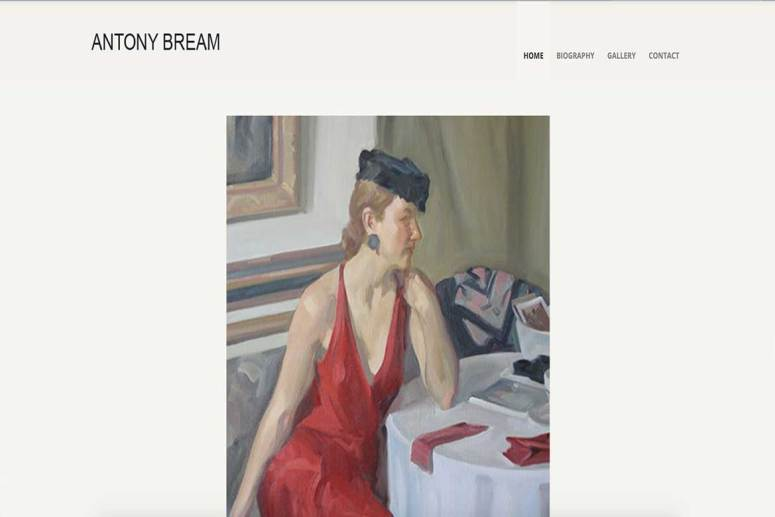Antony-Bream-Website-Project