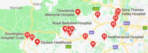 Hospitals in Berkshire