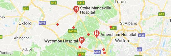 Hospitals in Buckinghamshire