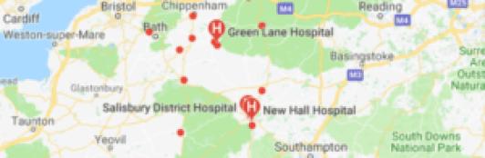 hospitals in wiltshire