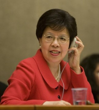 World Health Organization (WHO) Director General Margaret Chan (Photo Credit: WHO)