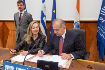 European Union signing the Marrakesh Treaty © WIPO 2014. Photo: Emmanuel Berrod