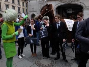 TTIP protest Munich 2