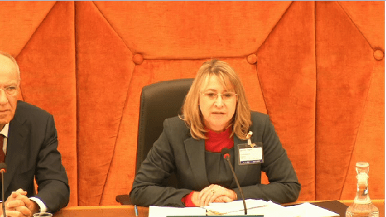 WIPO ACE Chair Amanda Lotheringen, of the Ministry of Trade and Industry, South Africa