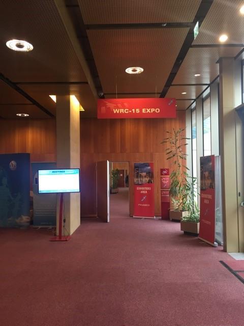 ITU WRC Exhibition Hall