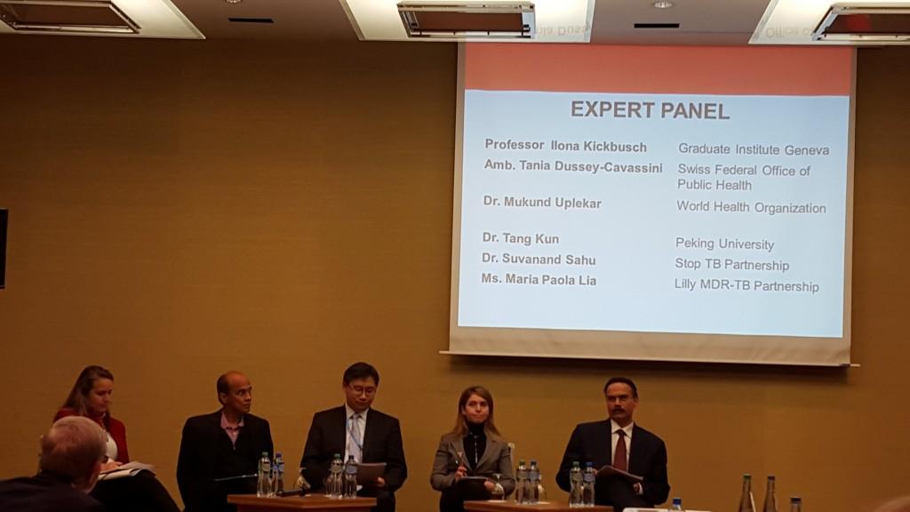 Expert panel, l-r: Dussey-Cassavini, Uplekar, Tang Kun, Lia, Sahu