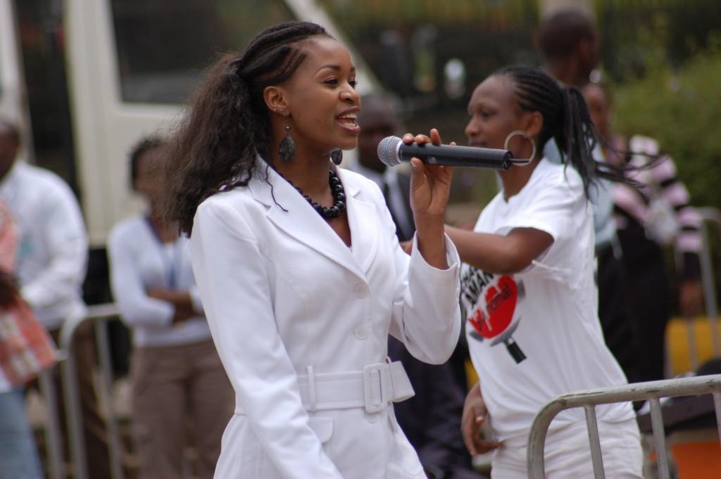 Esther Wahome, Kenyan singer and gospel artist