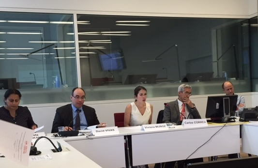 panelists at the side event