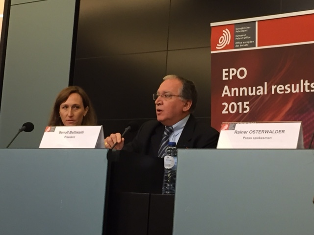 EPO Brussels - 2 - March 2016