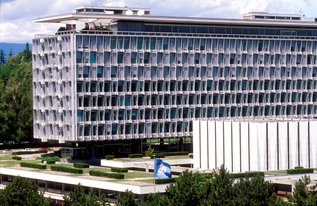 WHO headquarters in Geneva Copyright : WHO/Pierre Virot