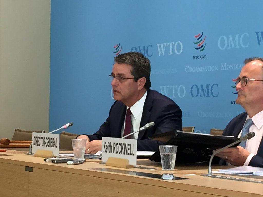 WTO Director-General Roberto Azevêdo