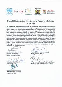 Nairobi statement