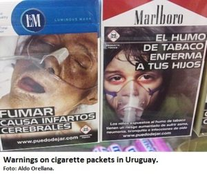 Tobacco plain pkg Uruguay