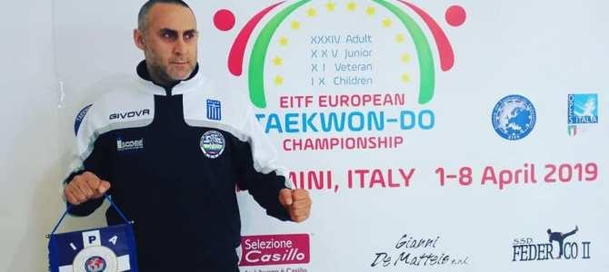 Η οικογένεια της Διεθνούς Ένωσης Αστυνομικών τοπική διοίκηση Χαλκιδικής, δίνει το παρών, στο Πανευρωπαϊκό Πρωτάθλημα Taekwon-do στο Ρίμινι της Ιταλίας!