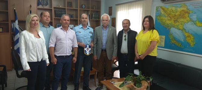 Επίσκεψη του Προέδρου του Ελληνικού   Εθνικού Τμήματος της Διεθνής Ένωσης Αστυνομικών στην  Χαλκιδική