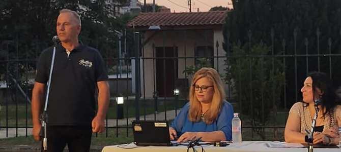 Εκδήλωση Ενημέρωσης Εθελοντών Δοτών μυελού των οστών Διεθνής Ένωσης αστυνομικών και  Δήμος Ν. Προποντίδας