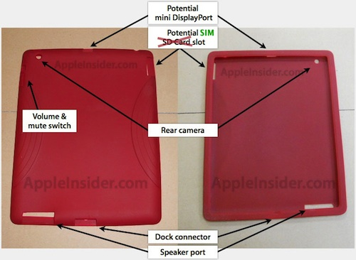 Other iPad 2 cases that have not shown the SIM card cut-out, as we have seen