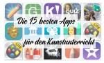 Die 15 besten Apps für den Kunstunterricht