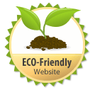 Eco-friendly website seal of approval