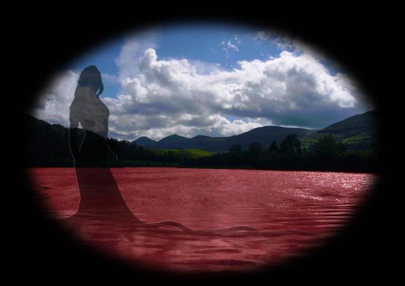 La femme du lac rouge par Jimhai