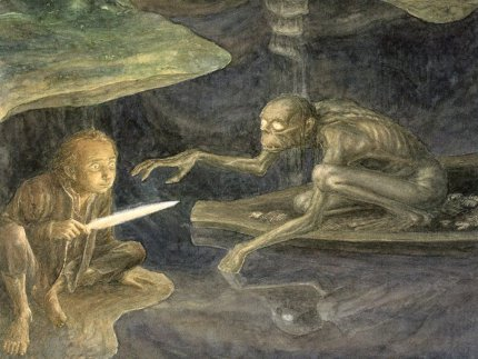 Illustration d' Alan Lee - The Hobbit -