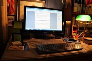 lieu d'écriture 2 Bluewriter