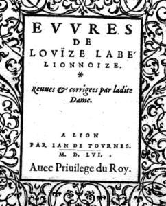 Louise_Labé_page_titre_1556