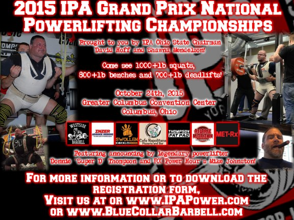 2015 GRAND PRIX NATIONALS FLYER