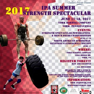2017 IPA SUMMER STRENGTH SPECTACULAR & KEYSTONE 6 STRONGMAN SHOW